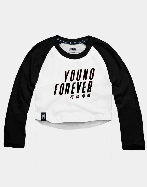 Cropped Raglan BTS Bangtan Boys Young Forever