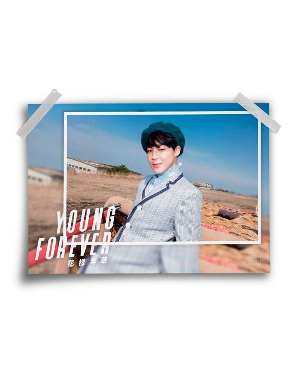 Poster BTS Young Forever Jimin