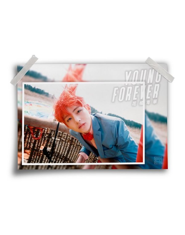 Poster BTS Young Forever V