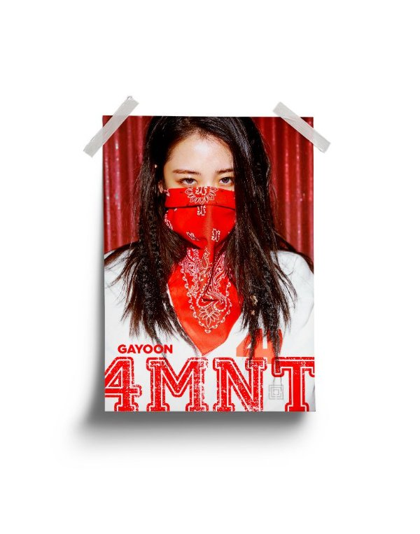 Poster 4Minute Hate GaYoon