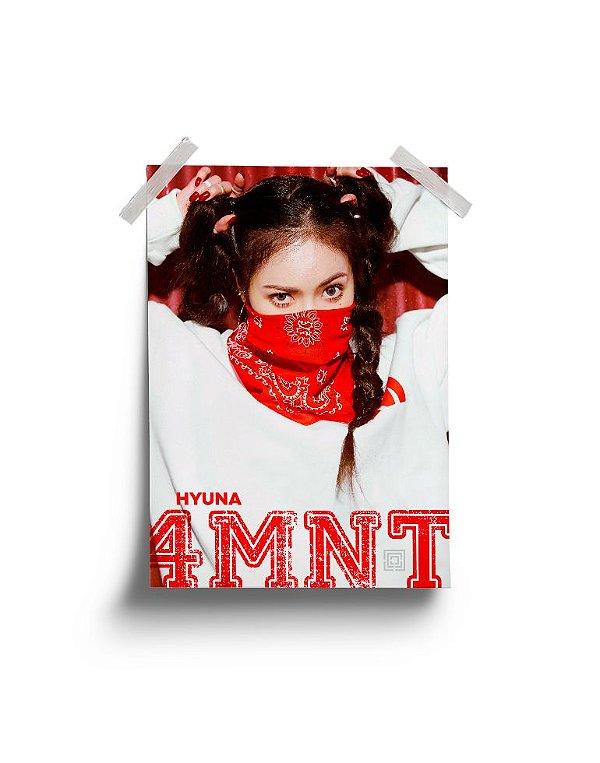 Poster 4Minute Hate Hyuna