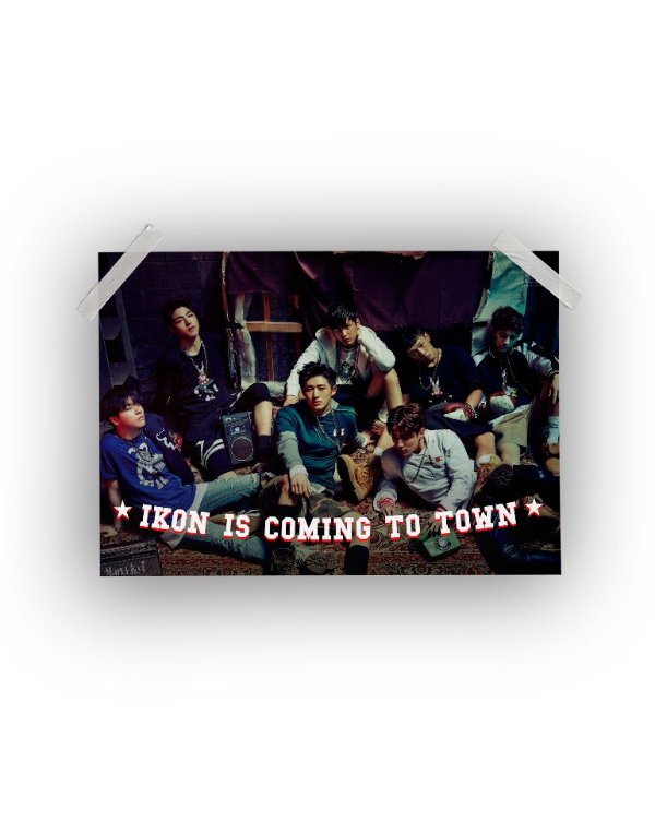 Poster iKON Is Coming To Town