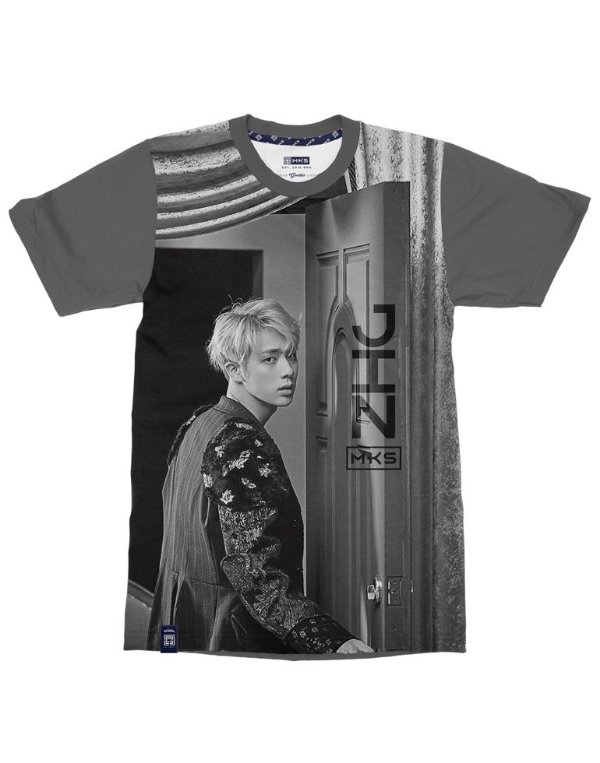 T-Shirt Black Shade BTS Jin