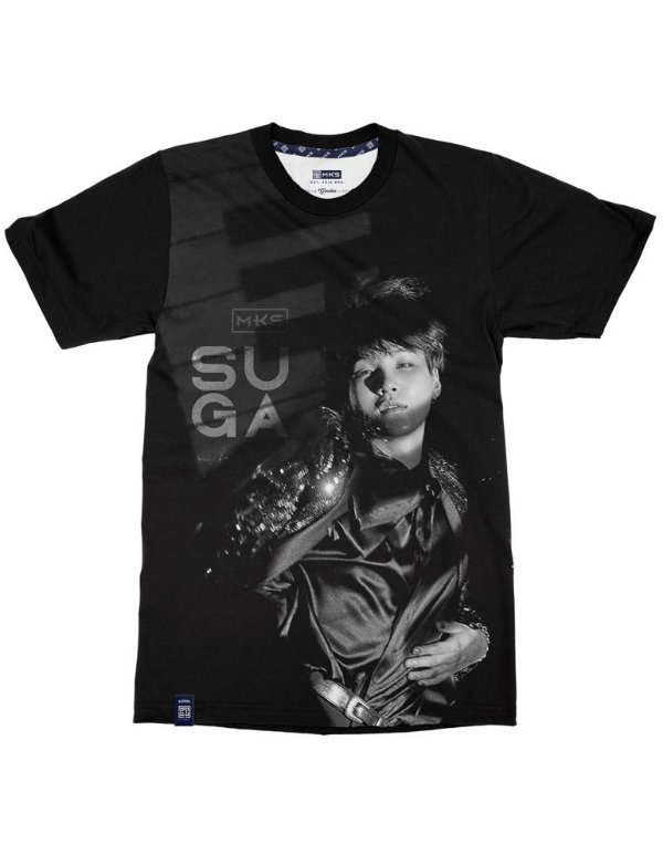 T-Shirt Black Shade BTS Suga