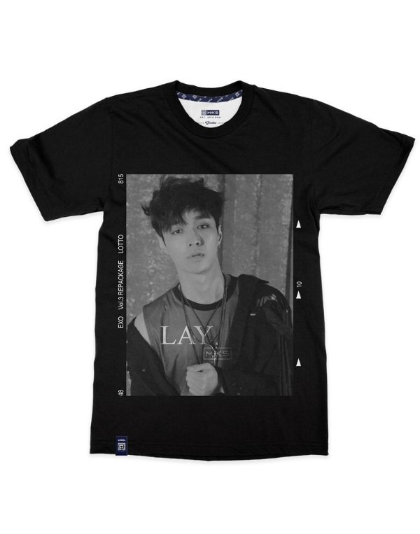 T-Shirt Black Shade EXO Lay