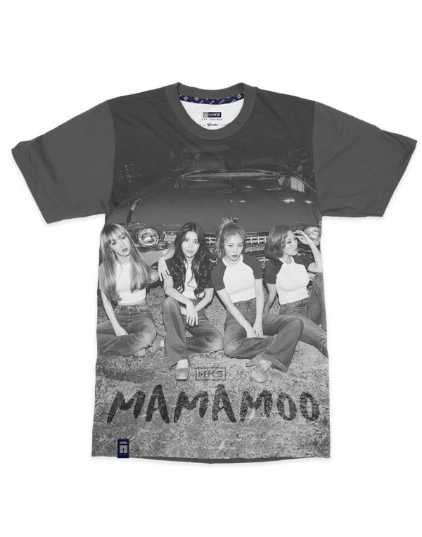 T-Shirt Black Shade MAMAMOO