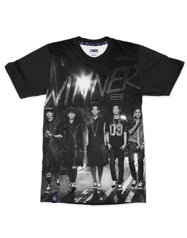 T-Shirt Black Shade WINNER