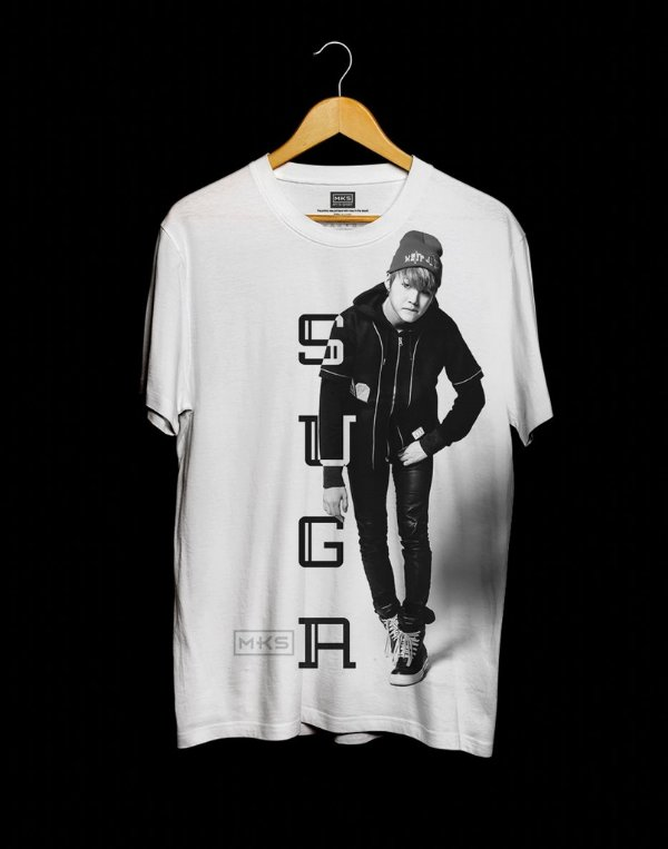 T-Shirt Black Shade Bangtan Boys BTS Suga