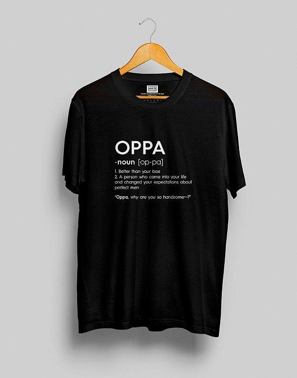 T-Shirt Oppa Dictionary