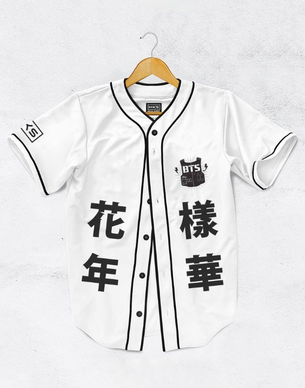 Jersey Bangtan Boys Mood For Love White