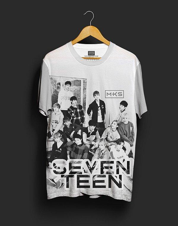 T-Shirt Black Shade Seventeen