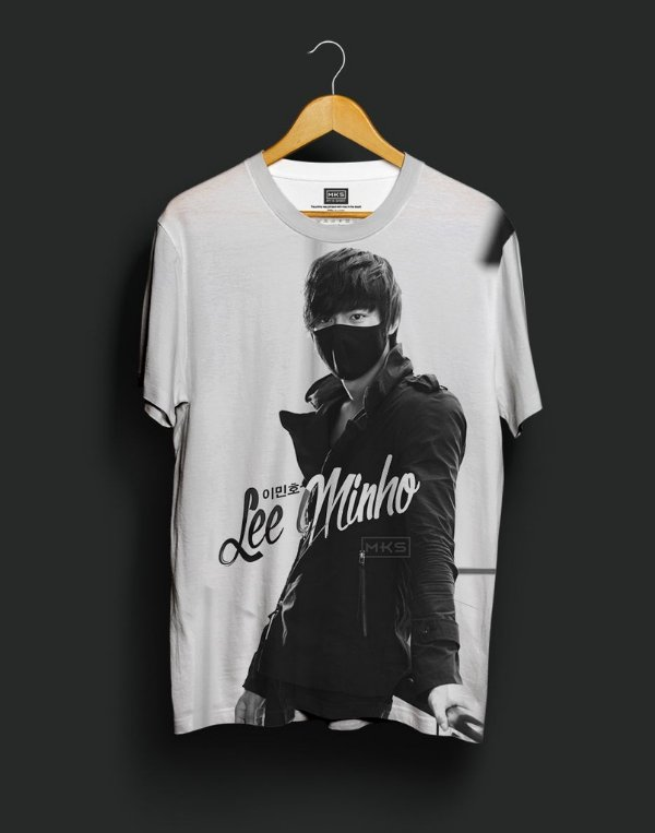 T-Shirt Black Shade Lee Minho