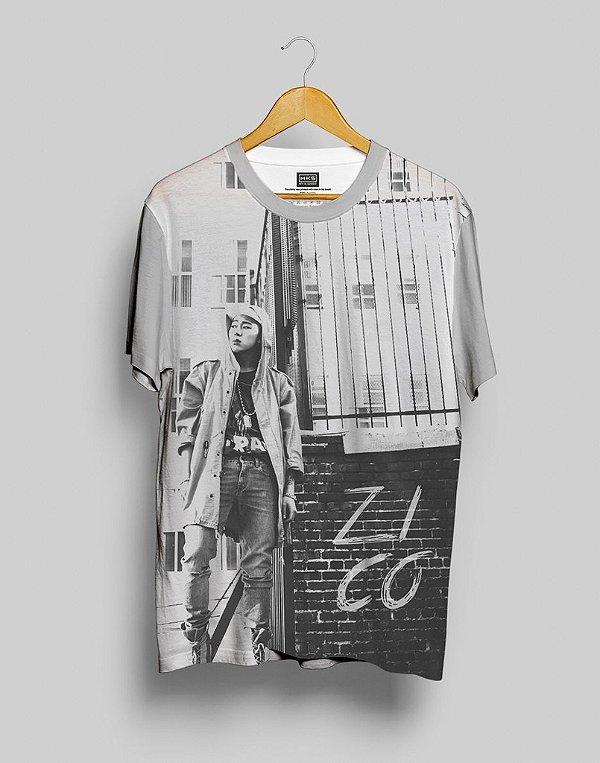 T-Shirt Black Shade Block B Zico