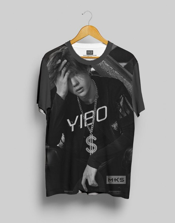 T-Shirt Black Shade UNIQ Yibo