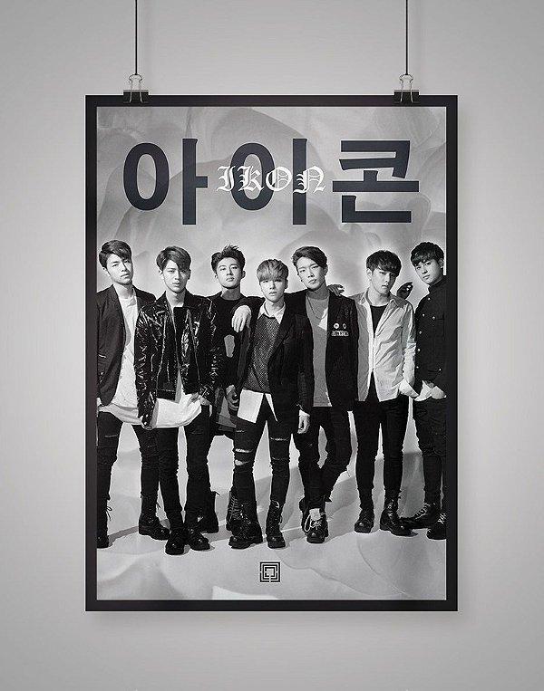 Poster Black Shade iKON