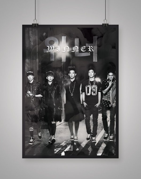 Poster Black Shade Winner
