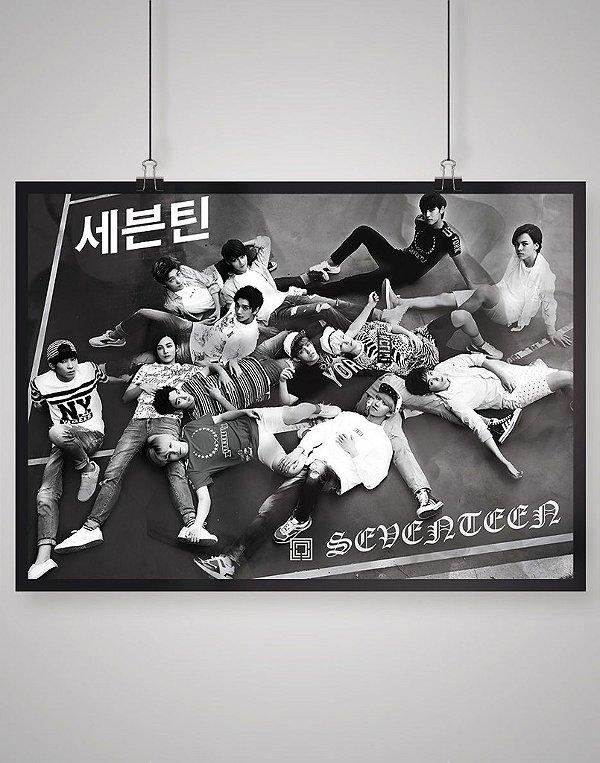 Poster Black Shade Seventeen