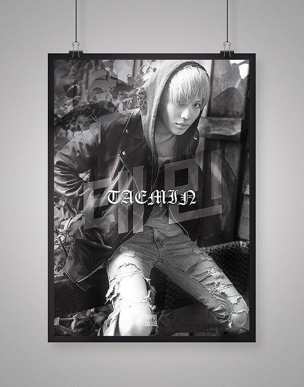 Poster Black Shade SHINee Taemin