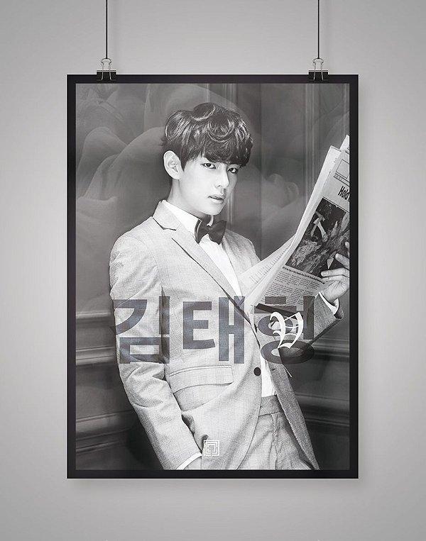 Poster Black Shade V BTS