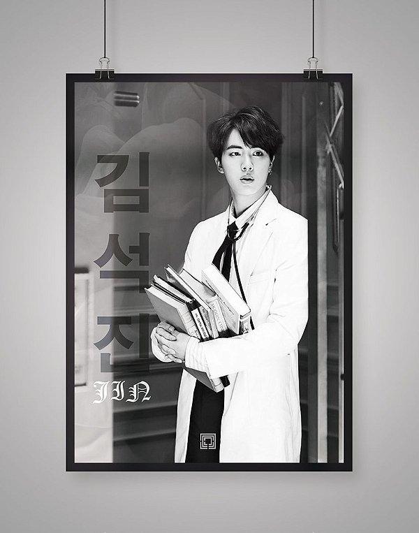 Poster Black Shade Jin BTS