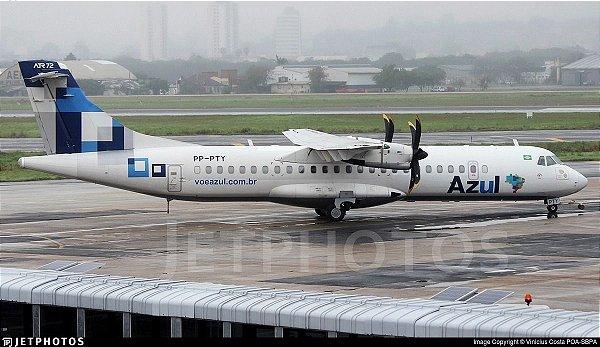 ATR 72 da Azul 1:400 (Intenção de Compra) Pintura Hibrida Azul/Trip