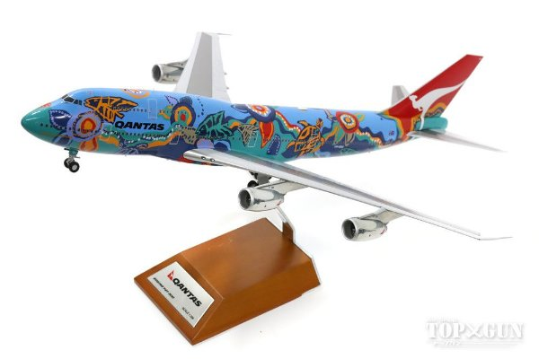 Inflight200 1:200 Qantas Boeing 747-300 Nalanji