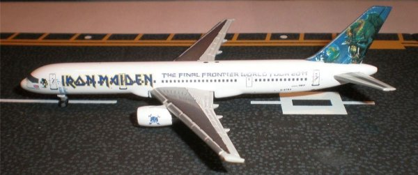 Jc Wings 1:500 Iron Maiden Boeing 757 Turne 2011