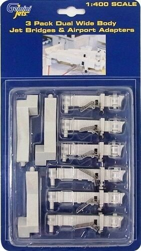 PRÉ VENDA - Conjunto de Fingers para Widebody 1/400 Gemini Jets - 3 fingers