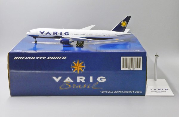 JC Wings 1:200 Varig Boeing 777-200ER