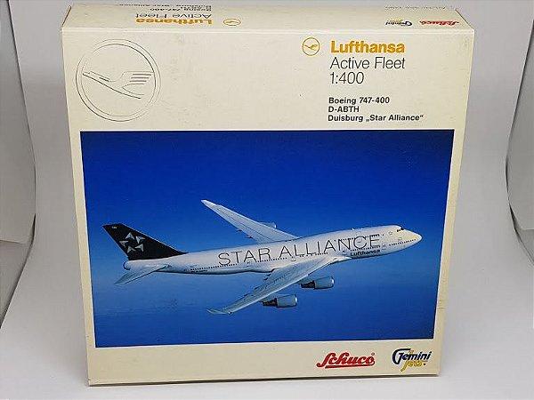 "Gemini 1:400 Lufthansa Boeing 747-400 ""Star Alliance"""