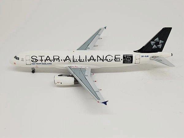 "Aeroclassics 1:400 Air New Zealand Airbus A320 ""Star Alliance"""