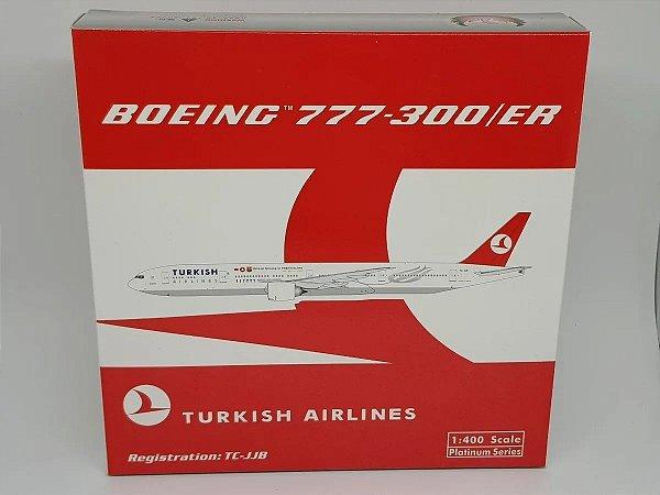 "Phoenix 1:400 Turkish Airlines Boeing 777-300ER ""FC Barcelona Sponsor"""