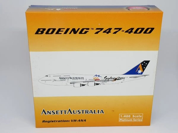 "Phoenix 1:400 Ansett Australia Boeing 747-400 ""Sydney 2000"""