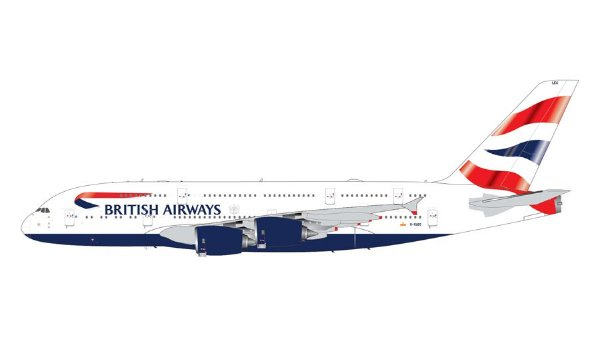 PRÉ VENDA - Gemini Jets 1:200 British Airways Airbus A380-800