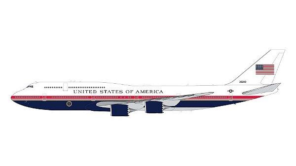 PRÉ-VENDA - Gemini Jets 1:200 Air Force One Boeing 747-8i
