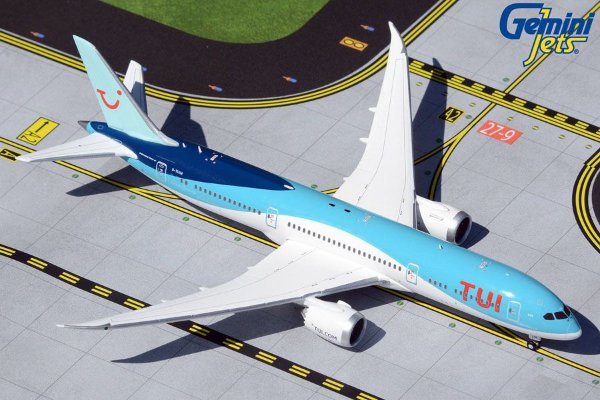 Gemini Jets 1:400 TUI Boeing 787-9 Dreamliner