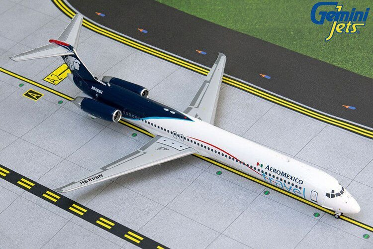 Gemini Jets 1:400 AeroMexico McDonnell Douglas MD-83