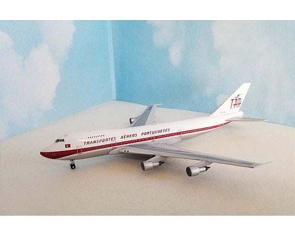 PRÉ VENDA - Aeroclassics 1/400 TAP Portugal Boeing 747-200