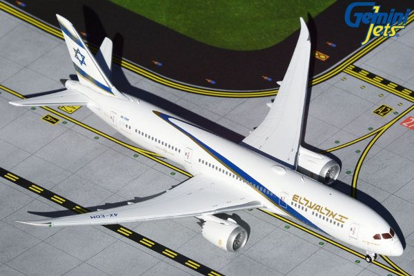 "Gemini Jets 1:400 EL AL ""Jerusalem of Gold"" Boeing 787-9 Dreamliner"