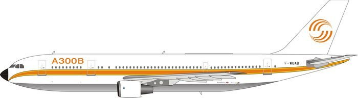 PRÉ- VENDA - Phoenix 1:400 Airbus House Colour Airbus A300B4-203