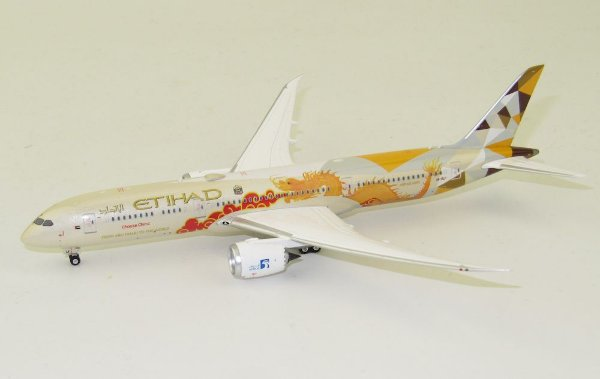 """Phoenix 1:400 Etihad Airways Boeing B 787-9 """"Choose China"""""""