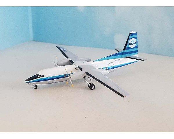 Western Models 1:200 KLM Fokker F-27-300
