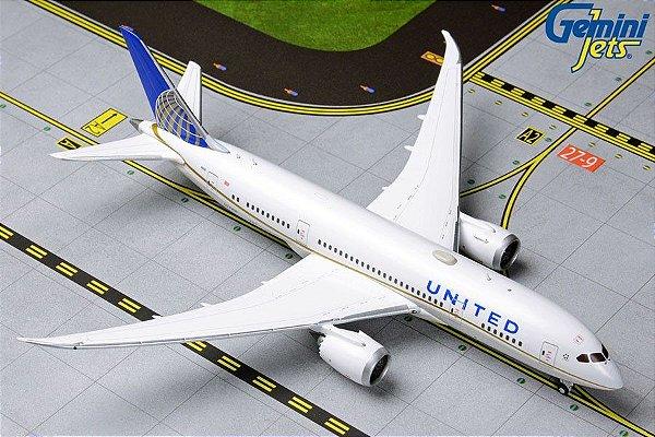 Gemini Jets 1:400 United Airlines Boeing B 787-8