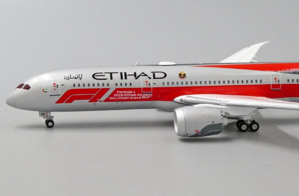 "JC Wings 1:400 Etihad Airways Boeing B 787-9 ""Formula 1"""