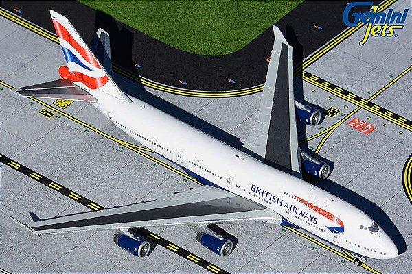 Gemini Jets 1:400 British Airways Boeing 747-400