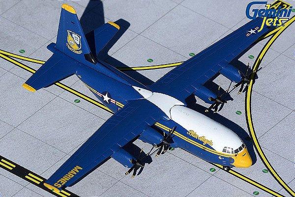 "Gemini Jets 1:400  United States Navy Lockheed C-130J Hercules ""Blue Angels"""