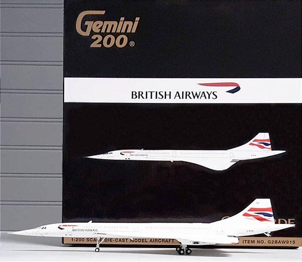PRÉ- VENDA Gemini Jets 1:200 British Airways Aerospatiale Concorde