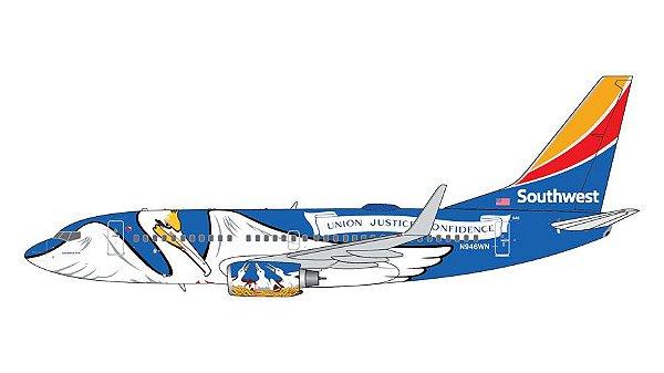 """PRÉ- VENDA Gemini Jets 1:200 Southwest Airlines Boeing 737-700 """"Louisiana One"""""""