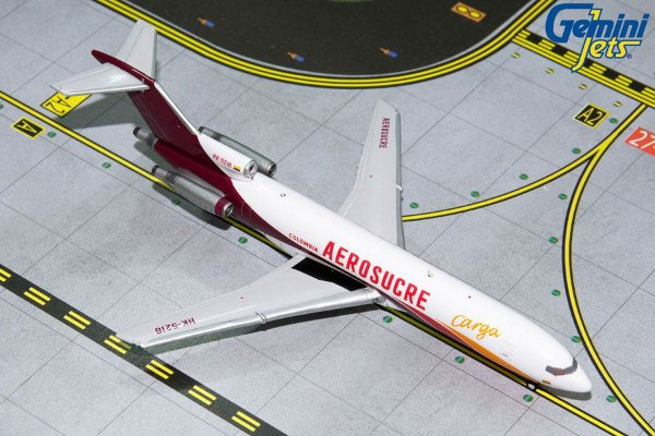 Gemini Jets 1:400 Aerosucre Colombia Boeing B 727