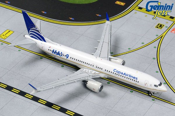 Gemini Jets 1:400 Copa Airlines Boeing B737 MAX 9